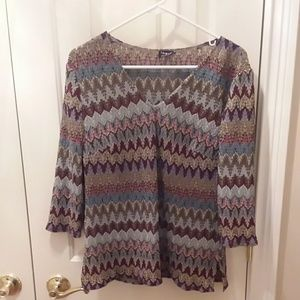 Tribal blouse sz XL